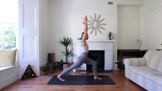 Sneak Peek: Supercharge Your 30-Minute Yoga Flow With Galaxy and Cat Meffan | Samsung thumbnail
