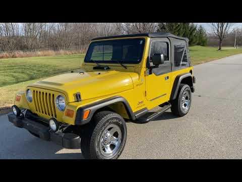 2004 Jeep® Wrangler Sport in Big Bend, Wisconsin - Video 1