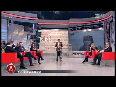 Intervento del Segretario Enzo Letizia su 'RAI3 - Agorà' Parte 1