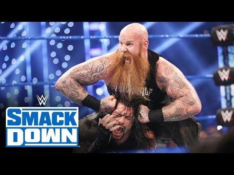 Roman Reigns vs. Erick Rowan – Lumberjack Match: SmackDown, Oct. 4, 2019
