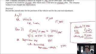 Module 3, Video 2 - Adjusting Journal Entries - Problem 3-1A