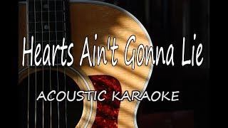 Arlissa   Hearts Ain't Gonna Lie (Acoustic Guitar Karaoke)