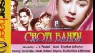 Jaoon Kahan Bata Ae Dil [Full Song] (HD) With Lyrics - Chhoti