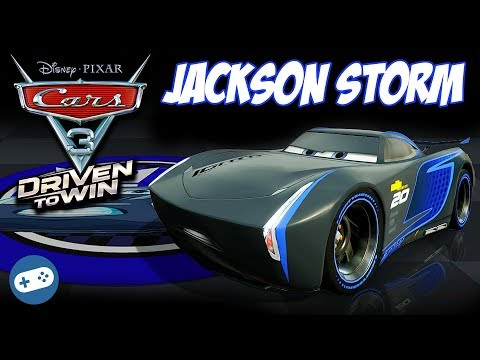 JACKSON STORM Cars 3 Driven To Win Gameplay Best Of Races