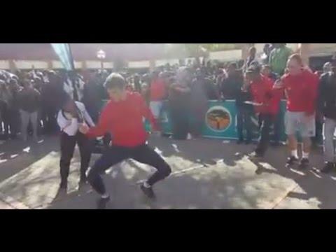 Pretoria Student Proves that White men Can dance
