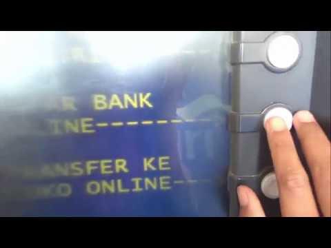 TRANSFER DARI MANDIRI KE BRI LEWAT ATM