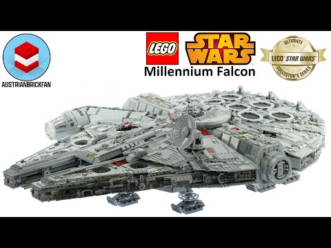 Vidéo LEGO Star Wars 75192 : Faucon Millénium UCS
