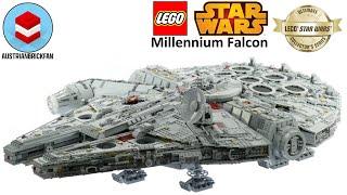 Lego Star Wars 75192 Millennium Falcon - Lego Speed Build Review