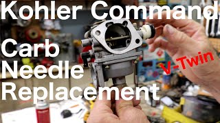 Kohler Command V-Twin Carb Needle Replacement