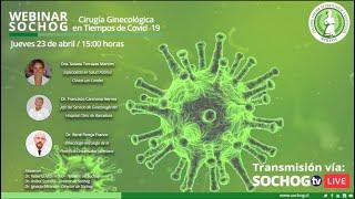 Webinar Cirugía Ginecológica en Tiempos de Covid-19