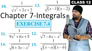 (Part 3) - NCERT Exercise 7 4 Integrals Class 12 Maths Chapter 7