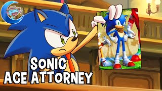 Sonic the Hedgehog, Ace Attorney - The Sonic Boom Turnabout