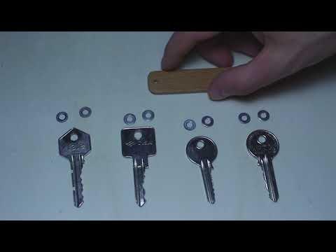 Flip keys holder. Make a flap key holder yourself.