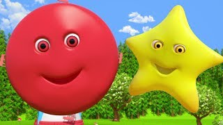 Learn Shapes Colors ABC Numbers & More Kids Rhymes By Little Treehouse