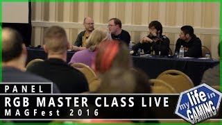 RGB Master Class Live at MAGFest 2016 :: Q & A Panel