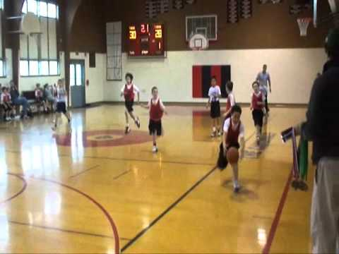 """Highlight of a """"Third grade Basketball Match"""""""
