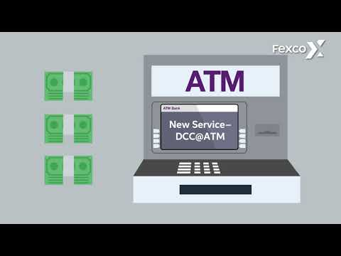 Fexco Dynamic Currency Conversion - DCC@ATM