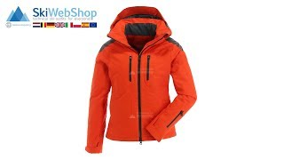 Tenson, Sabah, ski jacket, women, Wine red
