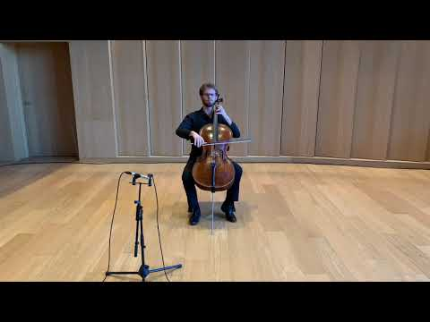 Prelude from Bach Suite No. 3 in C Major, BWV 1009