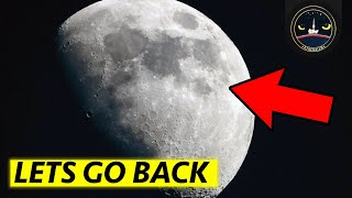 Why We Should Go Back to the Moon
