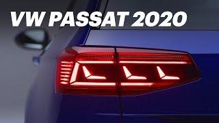VW Passat 2020 для России. Первый обзор