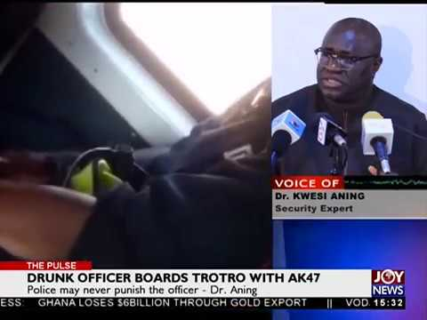 Drunk Officer Boards TroTro with AK47 - The Pulse on JoyNews (27-6-18)