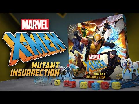 Gra planszowa X-Men: Bunt mutantów