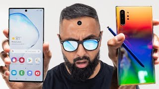Samsung Galaxy Note10 vs Samsung Galaxy Note 10+