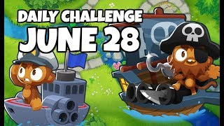 BTD6 Daily Challenge - Elsa Isn't Here - February 28, 2019 - Free
