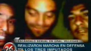preview picture of video 'video del abuso de menor de 14 años en general villegas - Marcha a favor'
