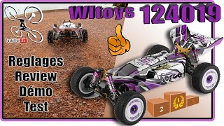Wltoys 124019 - Reglages Review Test Démo - Un bon petit Buggy !