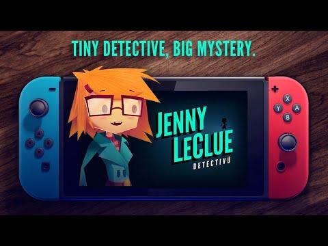 Jenny LeClue - Detectivu Nintendo Switch Announce Trailer - Official thumbnail