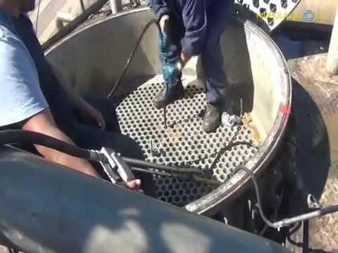 HIDROLAVADO.CL - Limpieza de Cocedores de Harina Pescado en industria pesquera