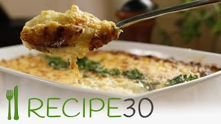 How I Fell In Love With A CHEESY CREAMY POTATO MASH - By Www.recipe30.com