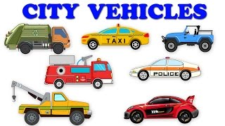 City Vehicles | Street Vehicles | Unboxing Cars