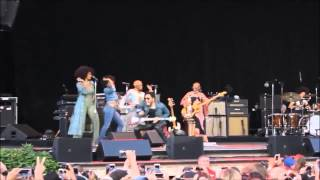 Lenny Kravitz pants rip exposed HD Quality