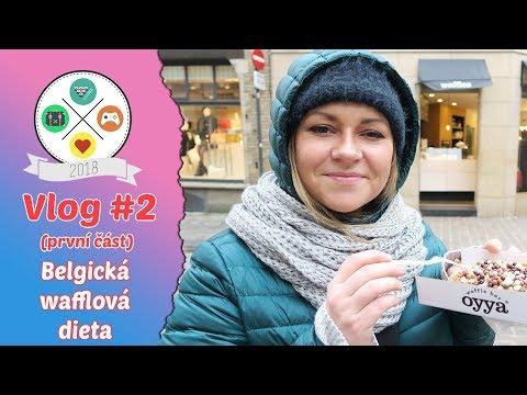 Vlog #2: BELGIE   Belgická wafflová dieta (1/2)