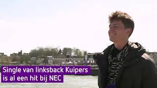 Single van linksback Kuipers is al een hit bij NEC