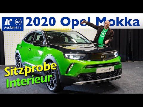 Opel Mokka (2021) - Interieur, Sitzprobe, kein Test - Opel Mokka-e 2020 Vauxhall