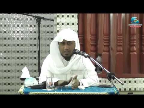 محاضرة بعنوان ( رمضان يا مرحبا ) للشيخ عبدالله عمرالأركاني باللغة الروهنجية