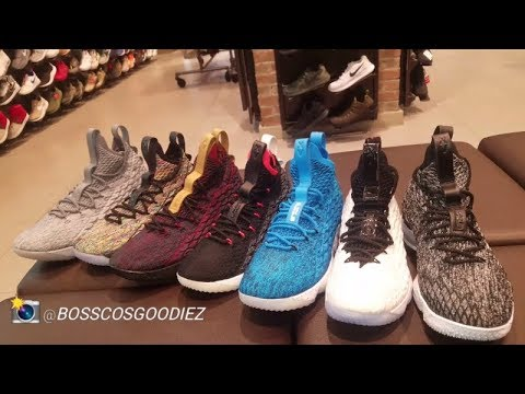 LEBRON JAMES'S NIKE LEBRON 15 SNEAKER REVIEW (LETS COMPARE)