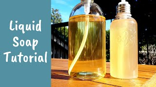 Liquid Soap Making Tutorial – Complete Process And Easy Beginner Recipe