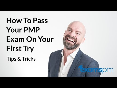 How to Pass Your PMP Exam on Your First Try: Tips and Tricks that ...