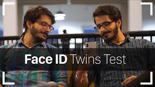 iPhone X Face ID Test with Twins in India!