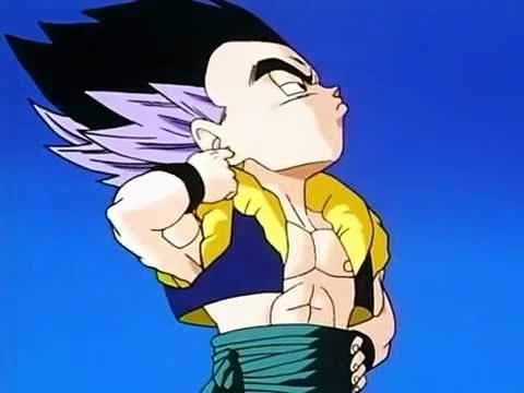 Goten and Trunks First Fusion To Form Gotenks