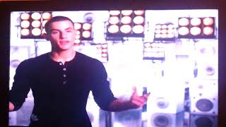 The Voice, Adam, sings some of CRY ME A RIVER, Chris Jamison, rehearsal