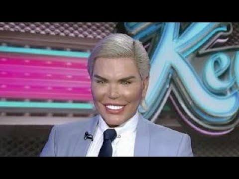 Man went through 60 surgeries to look like a Ken doll...looks kind of disturbing