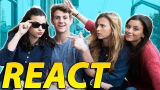 """MattyBRaps REACTS to """"Good Connection"""" WITH Davis Sisters!"""