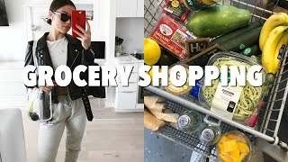 VLOG: come to the grocery store with me + what I buy weekly