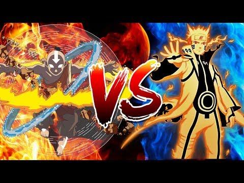 Naruto vs Aang   RAP   Friki Rap Battles   FAR